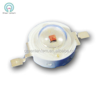 1w 660nm red high power led diode 1w red 660nm high power led emitting diode