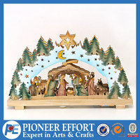 star lighting christmas window light nativity led light christmas decorations