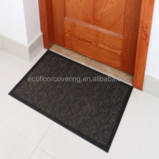 Unique technical pvc doormat/carpet and rug