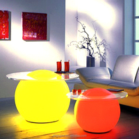outdoor garden led glowing ball lamp/ grass lighting ball/led illuminated sphere, led floating ball