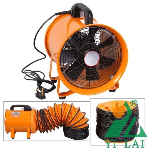 Metal Duct Fans : Explosion proof ventilation fan portable exhaust