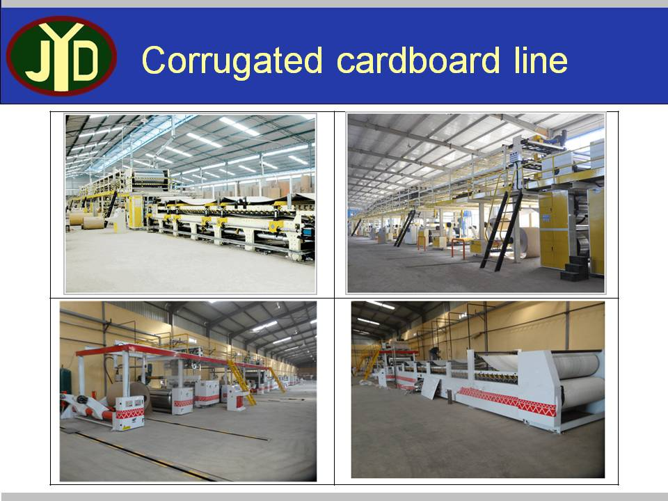 Chinese Supplier High Speed Double Cards Rotary Corrugated Machine