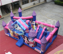 princess inflatable funcity, kids inflatable amusement park products