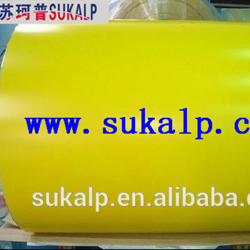 Prepainted/color coated steel coil / PPGI / PPGL