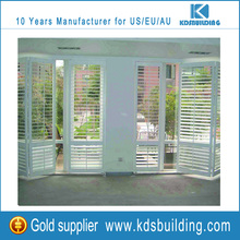 Sound Insulation Exterior Wooden Folding Door Shutter Designs