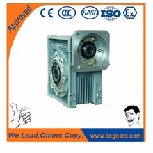 Single stage worm gearbox forklift gearbox