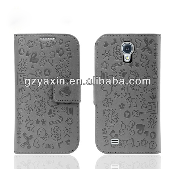 New Mobile Leather Case For S4,For Samsung s4 Flip Case,Tablet Leather Case For Samsung S4