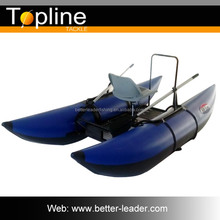 Blue pontoon barge boats wholesale with CE certificates