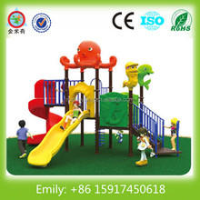 JMQ-P062D Kids small plastic playground outside play equipment