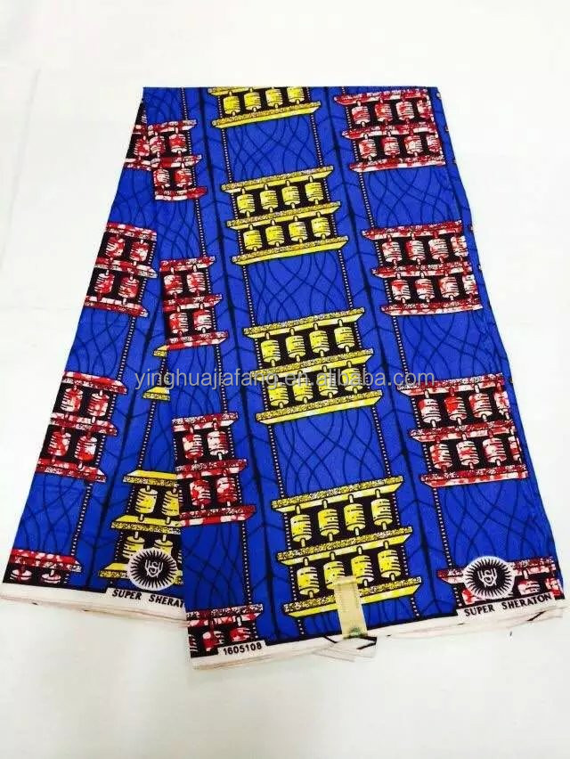 wholesale different type of wax print fabric african in factory price