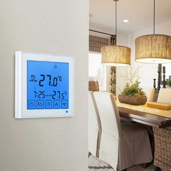 radiator Floor Heating Part Type and CE&ROHS Certification wifi thermostat