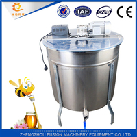 Reversible 6 Frames Stainless Steel Electric Honey Extractor/honey extractor gears