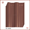 European Style Waterproof Coffee Brown Interlocking Roof Tiles