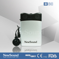 Pocket Body worn hearing aid ear tips with 2 pin earphone
