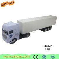 Hot sale toy container truck, 1/24 diecast container truck model diecast car