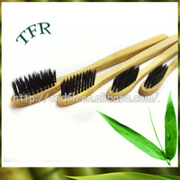 ECO-friendly soft bristle bamboo rubber bristle toothbrush
