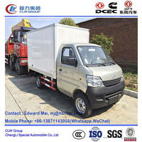 Changan 4*2 type 550kg~1 ton mini freezer box truck