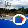 China wholesale tartan used outdoor basketball courts rubber flooring coating