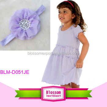 Factory price short sleeve ruffles baby dresses girls cotton summer dresses
