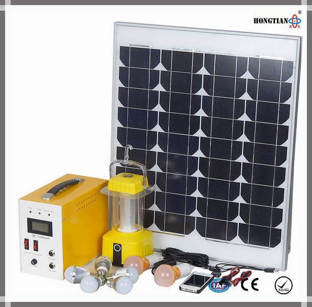 80W home solar power panel system