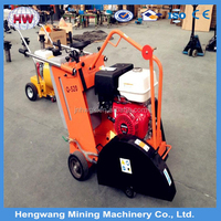 Walk behind gasoline honda asphalt floor road cutting machine/road concrete cutter