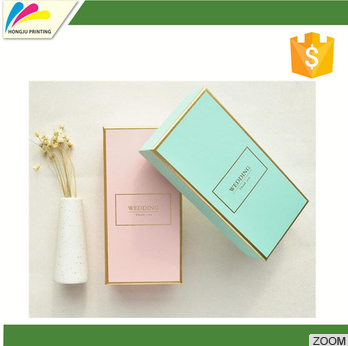 Customed printing color corrugated box