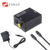Digital Optical Coaxial Toslink Signal to Analog Audio Converter Adapter