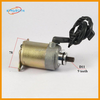 GY6 Engine Electric start ATV SCOOTER starter Motor