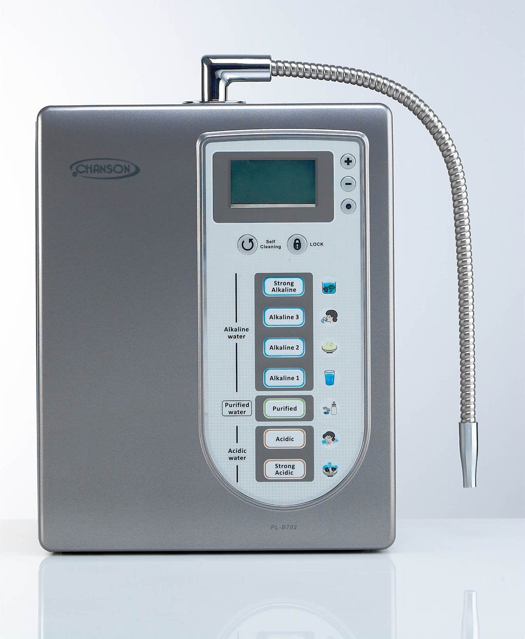 Counter Top Alkaline Water Ionizer