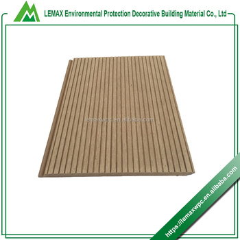 Super quality Hollow anti-skidding floor decking sheets Outdoor wpc decking floor