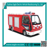 electric fire fighting vehicle, 2 seat car, 0.6 m3 water tank, EG6020F