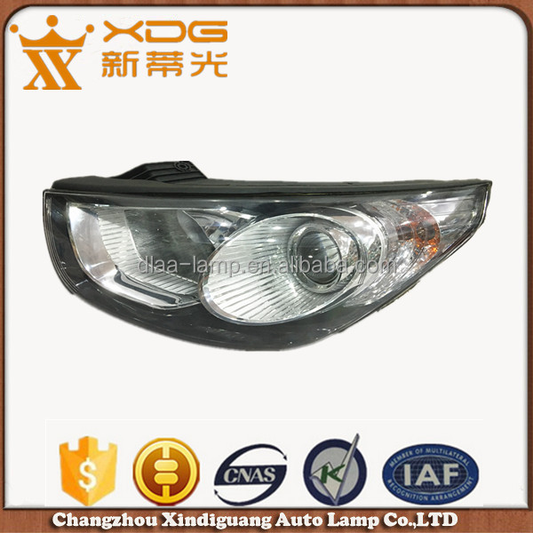 high power headlight car head lamp for ix 35 tucson
