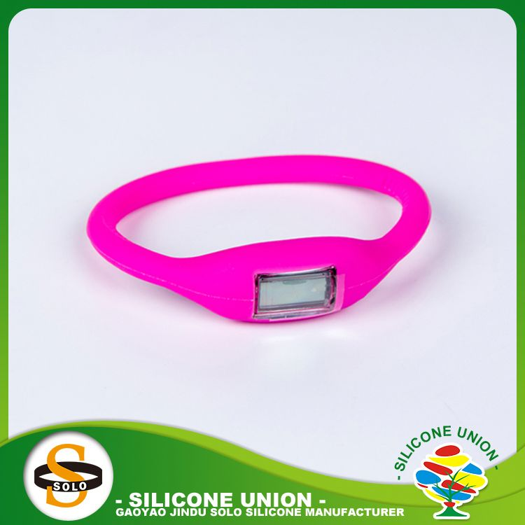 segmented color custom silicone bracelets with sayings