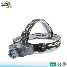 Aluminum Alloy Outdoor Rechargeable Longfire Headlamp Flashlight LED Headlamp