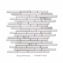 New Design Marble Strip For Wall Or Kitchen Backsplash Mosaic Tile