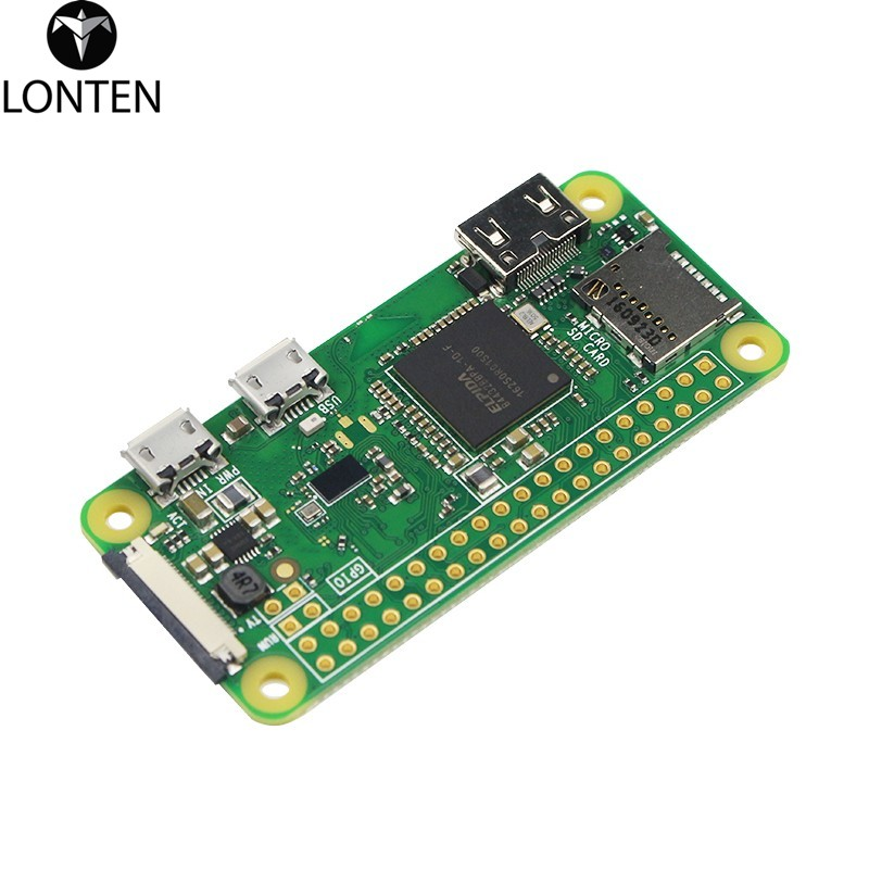 Lonten New Raspberry Pi Zero <strong>W</strong> Board with WIFI and 1GHz CPU 512MB RAM support Linux OS 1080P HD Video Output Raspberry Pi 0 <strong>W</strong>