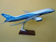 Resin promotional items china plane model used cargo airplanes