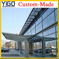 patio glass roof,fiberglass roof panels