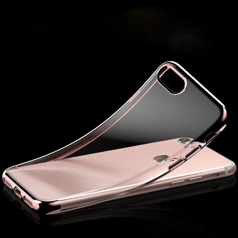 For iPhone7 mobile phone shell three-stage plating hollow mobile phone protective cover for <strong>Apple</strong> 6s plus