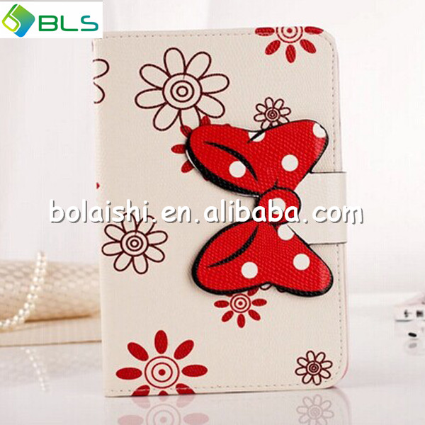 2014 new design Hot selling leather hand strap case for ipad mini