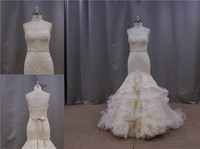 Super ruffle band wholesale wedding dresses new york for sale