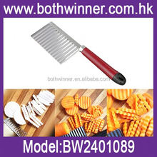 potato chip cutter ,H0T231 plastic manual potato chopper with square knife for sale