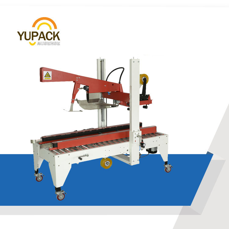 High performance flaps folding carton sealer, Automatic box taping machine