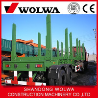 Severe Environment Timber Transport Trailer For