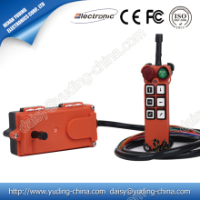 Factory Price F21-E1B 6 buttons 1 speed single hook crane wireless radio indusrial remote cotnrol
