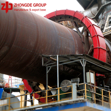 stock available 3.6*70m building material rotary kiln for calcining active carbon kaoline phosphorite rock in building material