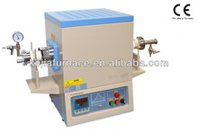 Compact high temperature vacuum and atmosphere tube furnace