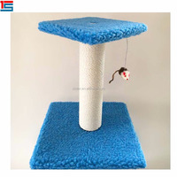 Promotional luxury wood cat scratching tree