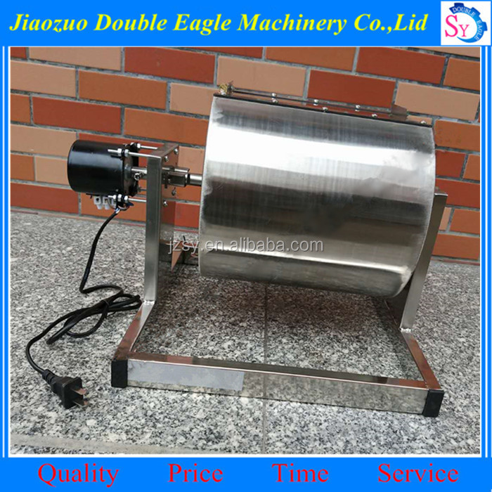 Multifunction flax seeds roasting machine/Automatic small chili baking machine
