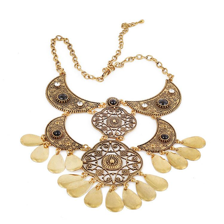 Latest product super quality vogue jewelry wedding necklace from China